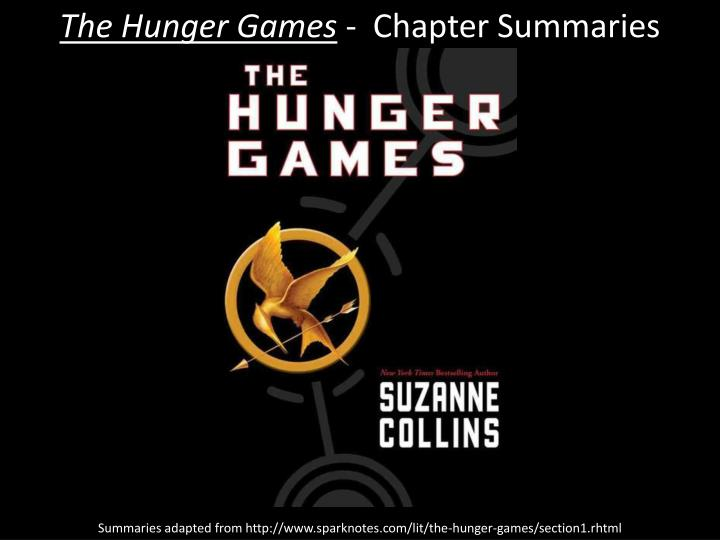 the hunger games chapter summaries