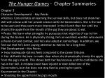 the hunger games chapter summaries4
