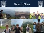 glenn in china
