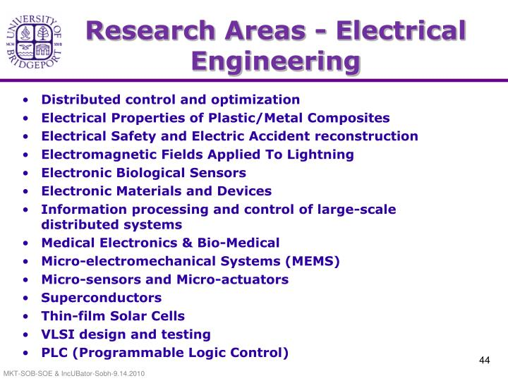 Research Areas - Electrical Engineering