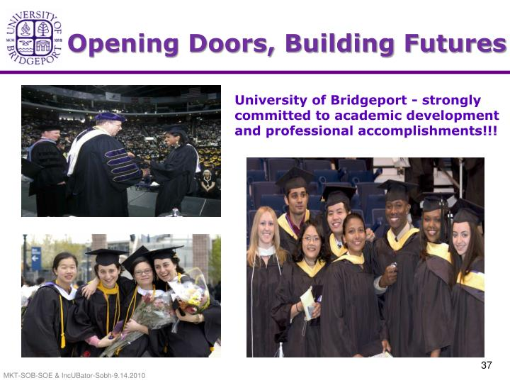 Opening Doors, Building Futures