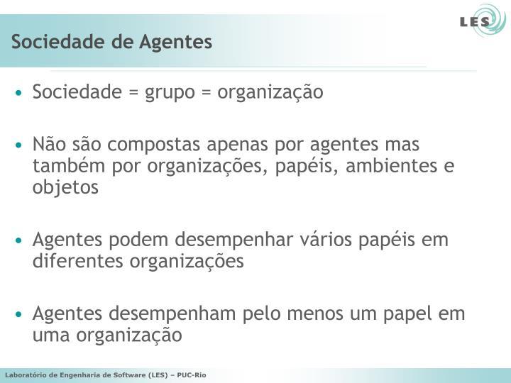 Sociedade de Agentes