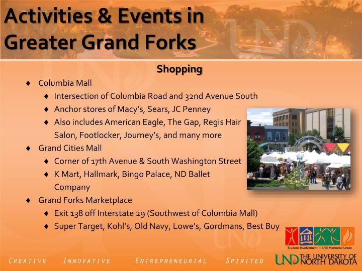 Activities & Events in