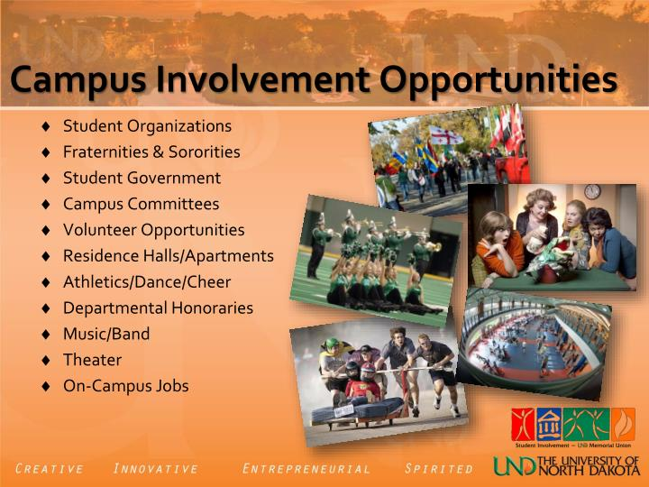 Campus Involvement Opportunities