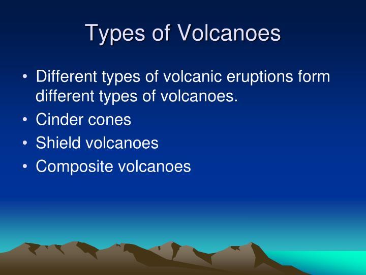 Types of Volcanoes
