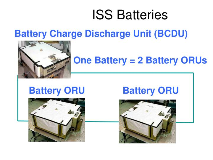 ISS Batteries