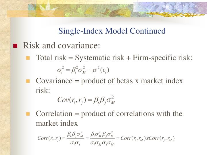 Single-Index Model Continued