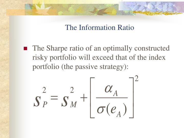 The Information Ratio