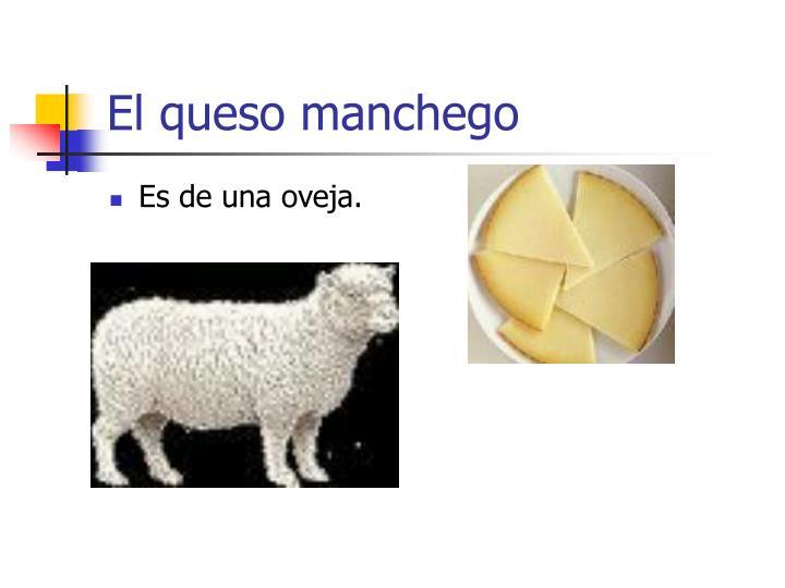 El queso manchego