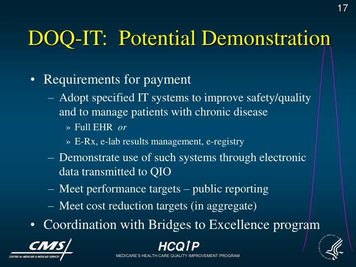 DOQ-IT:  Potential Demonstration
