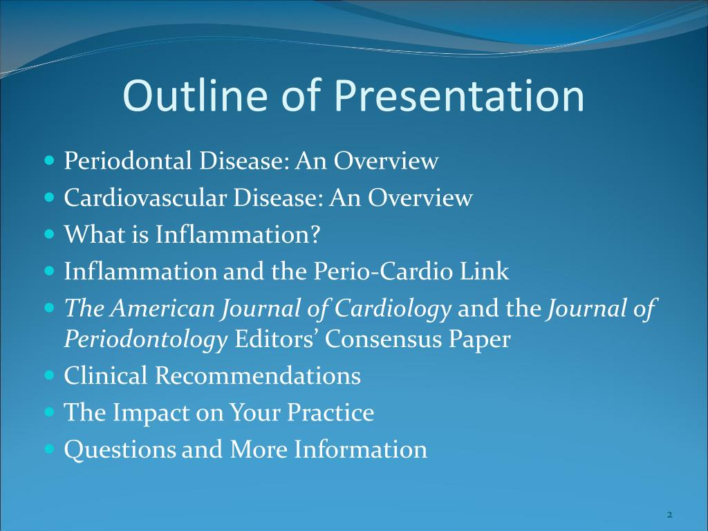 PPT - Collaboration between Periodontists and Cardiologists