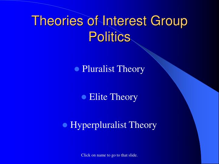 an analysis of the political parties goal and interest group goals An interest group is an organization of people with similar policy goals that tries to influence the political process to try to achieve those goals in so doing, interest groups try to influence every branch and every.