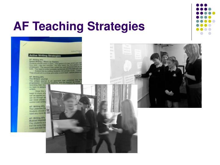 AF Teaching Strategies