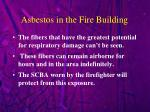 asbestos in the fire building2