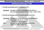 stufenzuordnung tv d