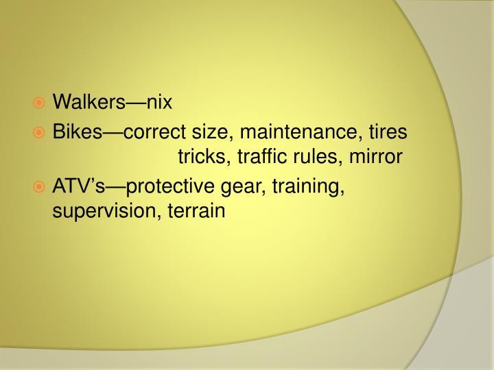Walkers—nix
