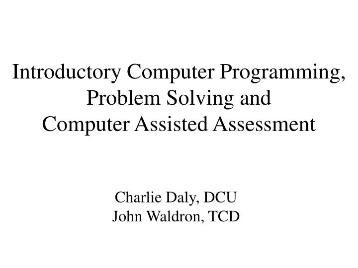introduction of computer research paper