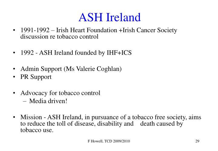 ASH Ireland