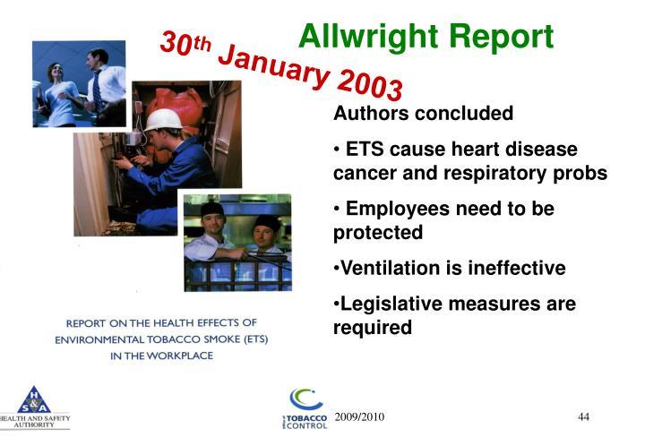 Allwright Report