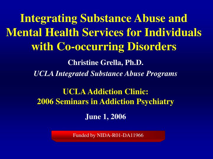 substance abuse and mental disorders social work essay Substance abuse and mental disorders research papers delve into the co-existence of mental illness and substance abuse and their statisitcs research papers on substance abuse and mental disorders have interesting facts to report regarding the incidence of the two conditions.