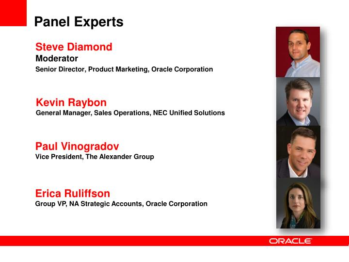 Panel Experts