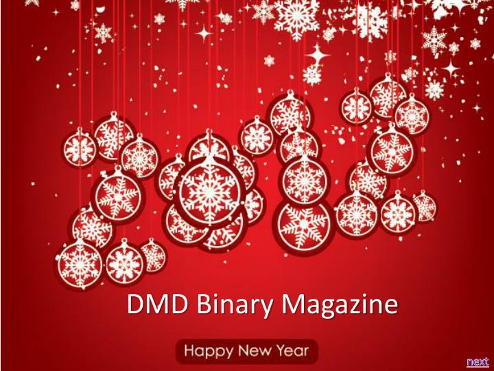 dmd binary magazine n.