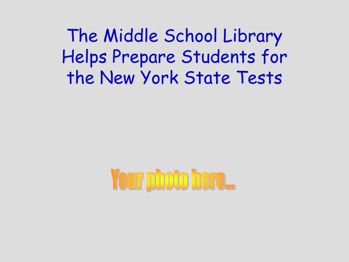 The Middle School Library