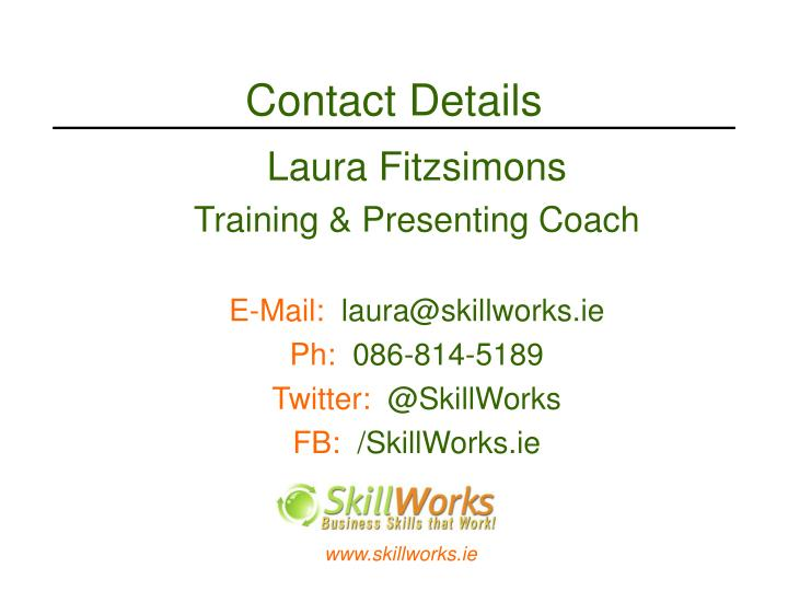 Contact Details