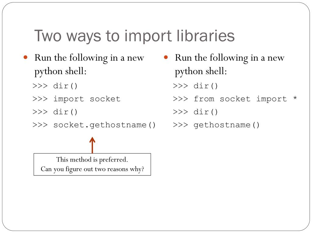 PPT - Intro to Python PowerPoint Presentation - ID:6410885