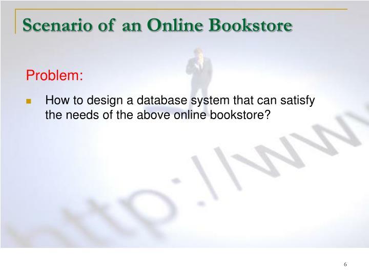 Scenario of an Online Bookstore