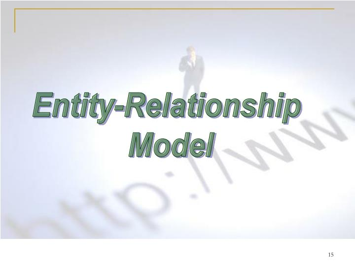 Entity-Relationship