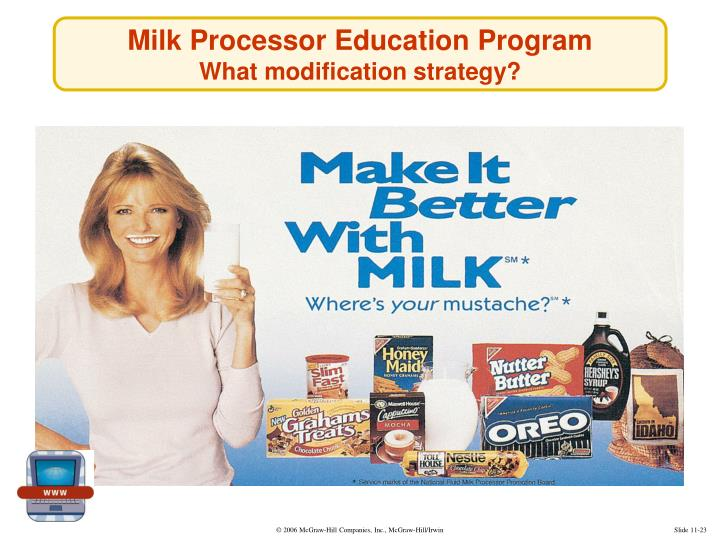 Milk Processor Education Program