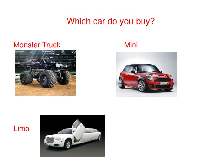 Which car do you buy?