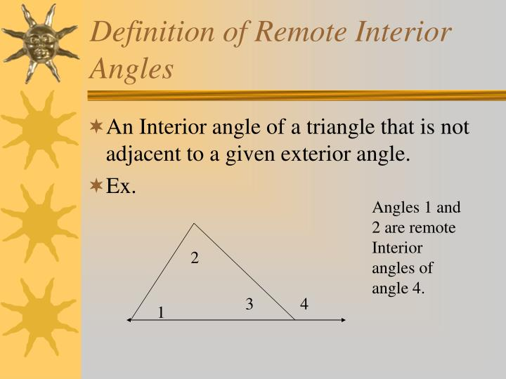 PPT The Triangle Sum Theorem PowerPoint Presentation ID6412587