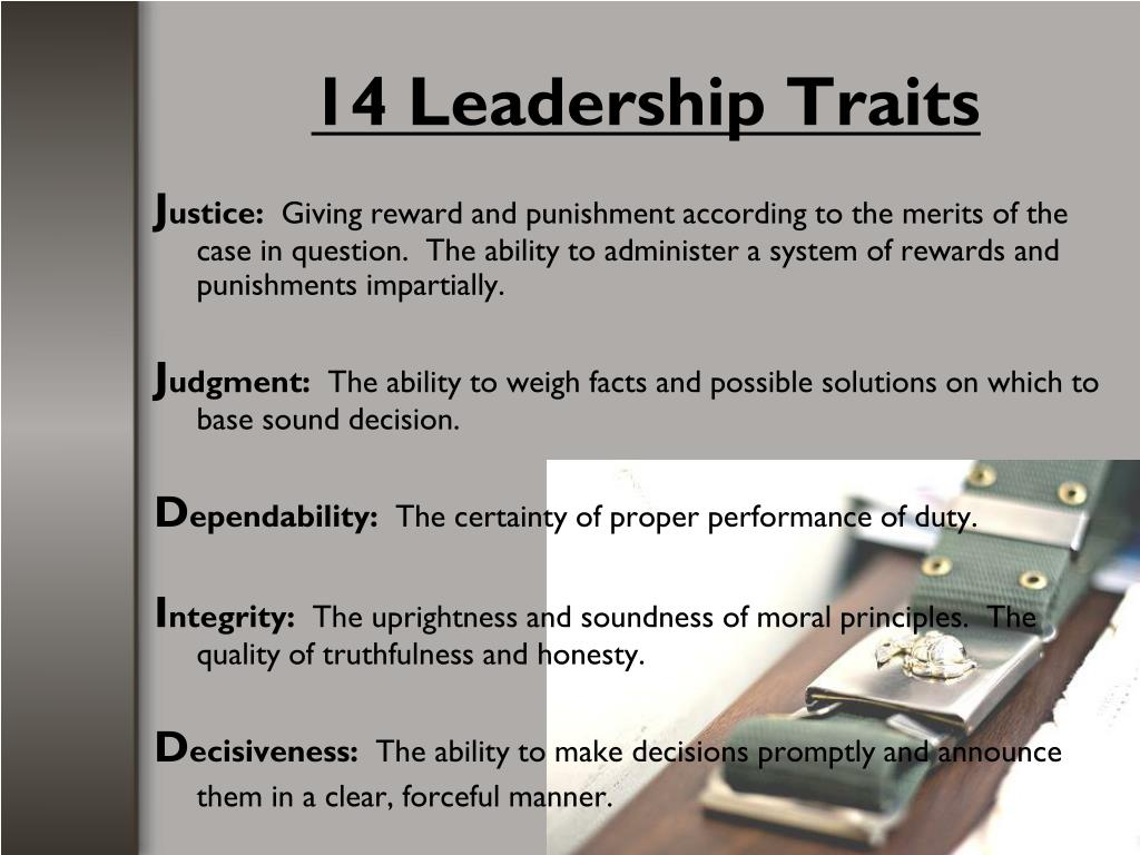 PPT - Fundamentals of Marine Corps Leadership PowerPoint ...
