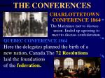 the conferences