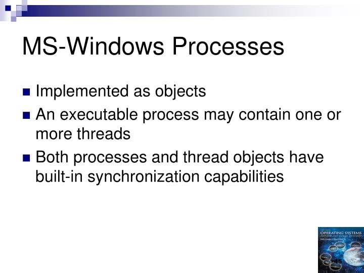 MS-Windows Processes