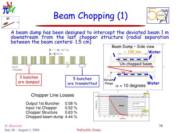 Beam Dump – Side view
