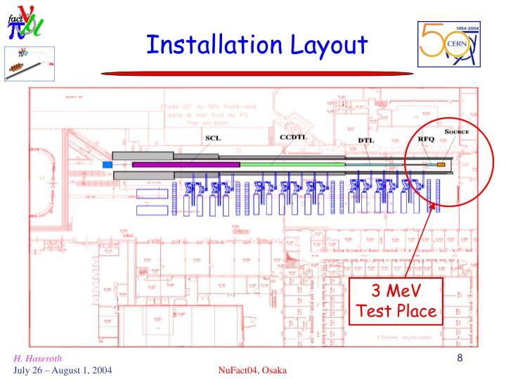 Installation Layout