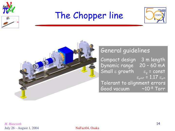 The Chopper line