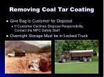 removing coal tar coating11