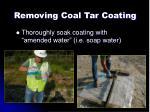 removing coal tar coating3