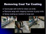 removing coal tar coating4