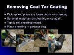 removing coal tar coating5