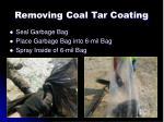 removing coal tar coating7