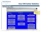 how cms gather statistics1