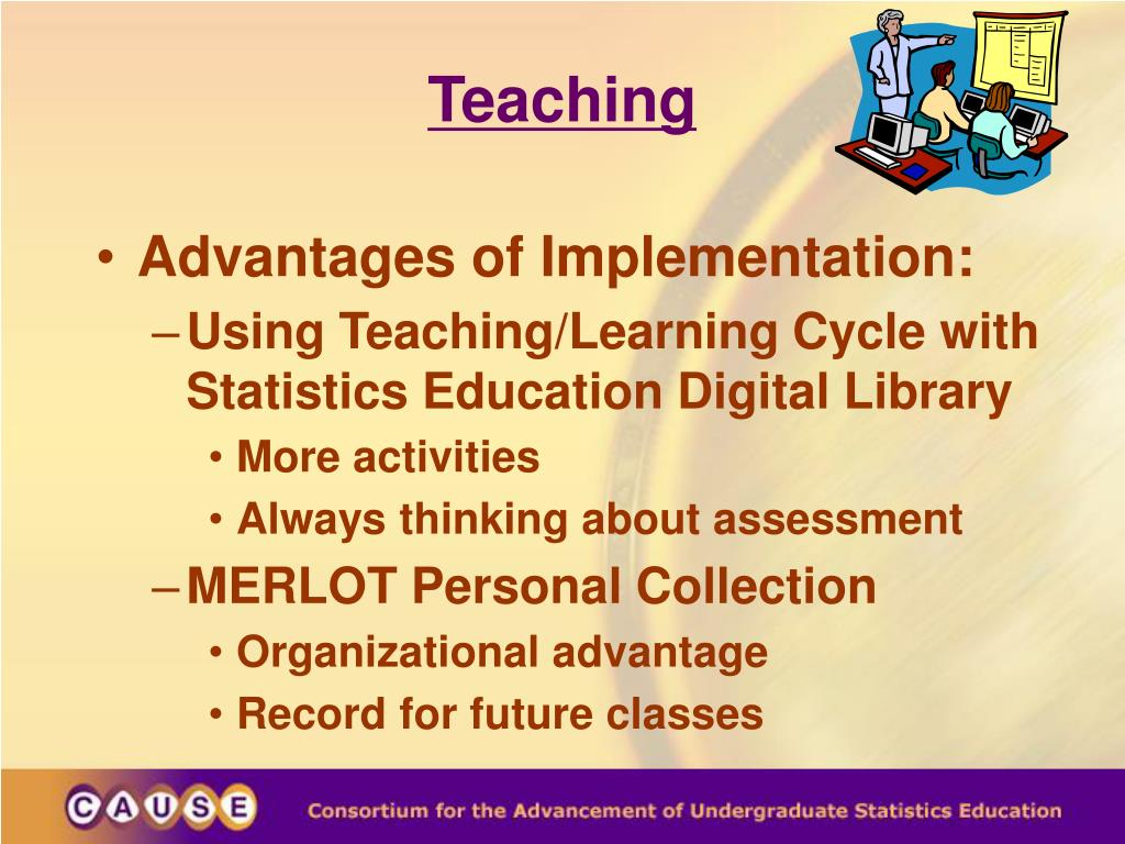 PPT - Teaching with Statistics Education Digital Libraries