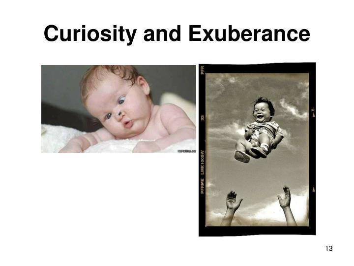 Curiosity and Exuberance