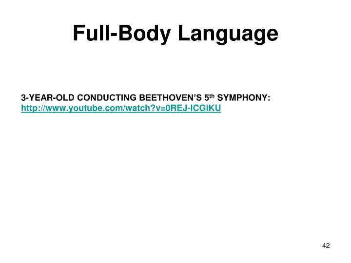 Full-Body Language