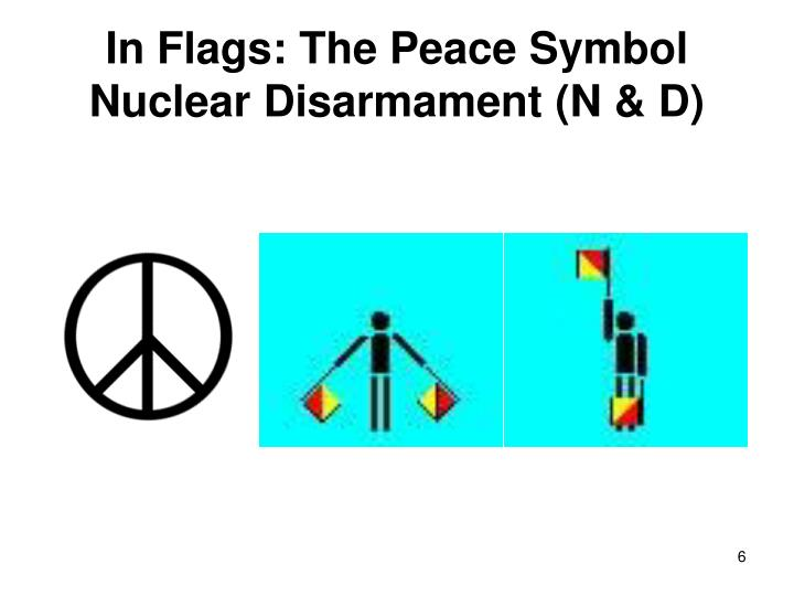 In Flags: The Peace Symbol